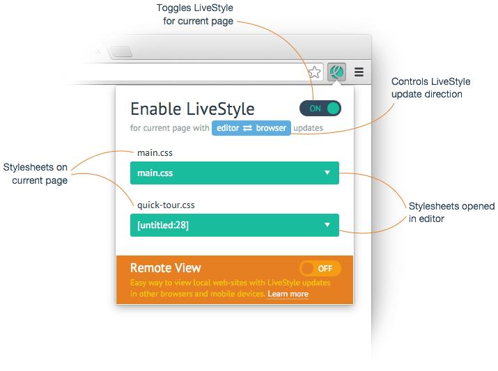 Using LiveStyle